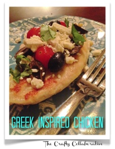 greek inspired chicken