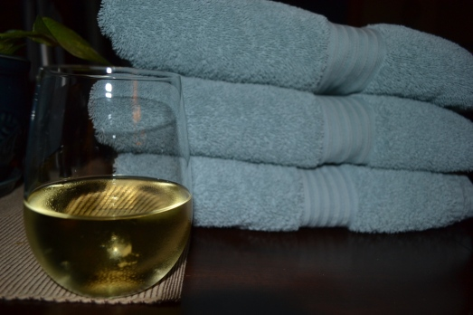 laundry and wine