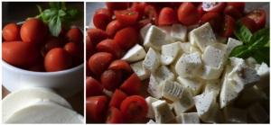 tomatoes mozzarella