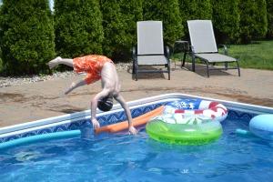 pool flips