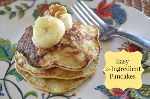 2 ingredient pancakes