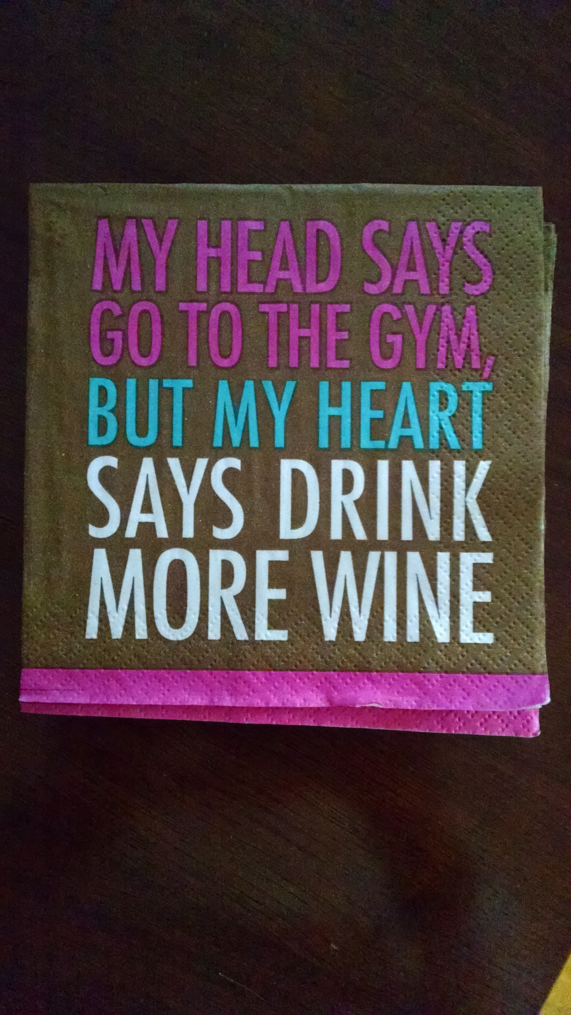gym vs wine