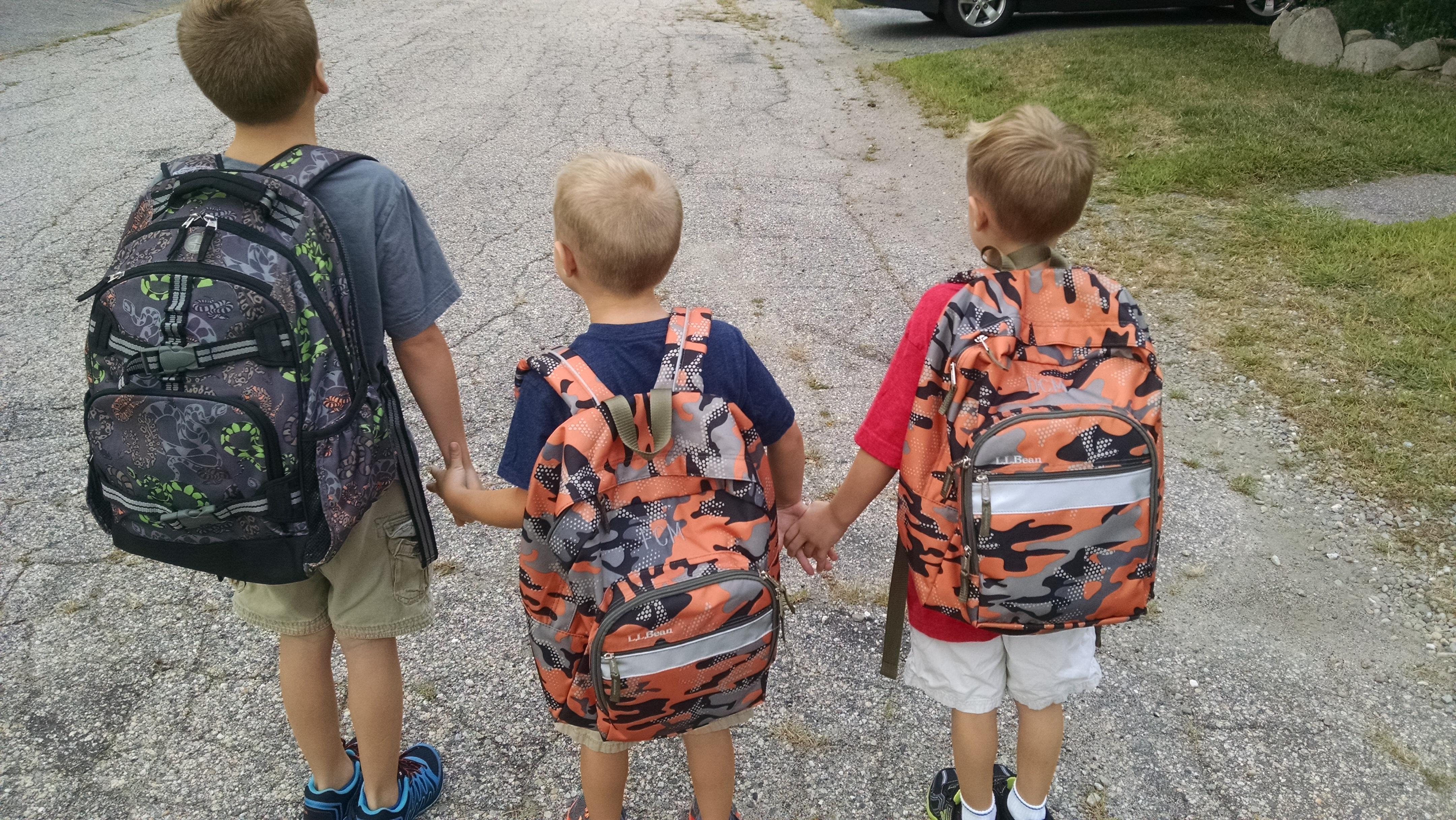 To kindergarten we go