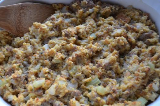 sausage cornbread stuffing