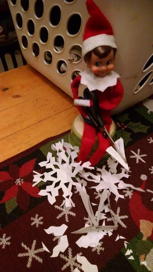 elf snowflakes